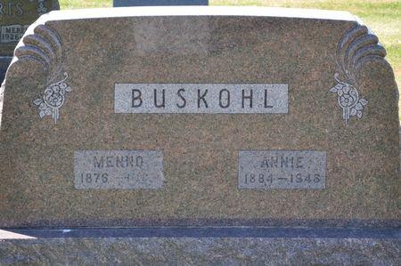 BUSKOHL, ANNIE - Grundy County, Iowa | ANNIE BUSKOHL
