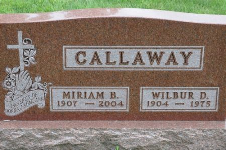 CALLAWAY, MIRIAM B. - Grundy County, Iowa | MIRIAM B. CALLAWAY
