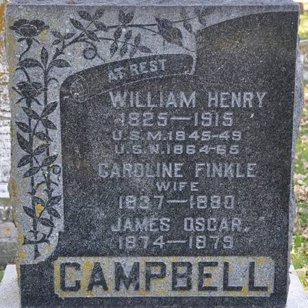 CAMPBELL, JAMES OSCAR - Grundy County, Iowa | JAMES OSCAR CAMPBELL