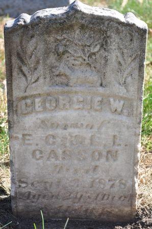 CASSON, GEORGIE W. - Grundy County, Iowa | GEORGIE W. CASSON