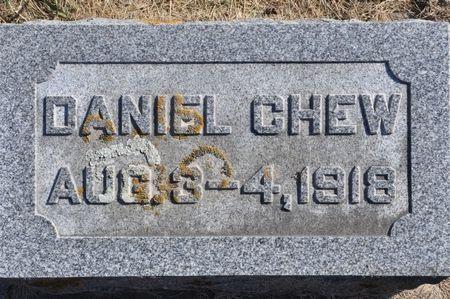 CHEW, DANIEL - Grundy County, Iowa   DANIEL CHEW