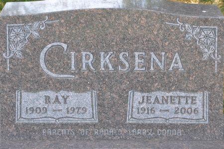 CIRKSENA, RAY - Grundy County, Iowa | RAY CIRKSENA