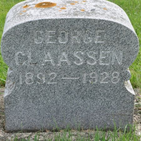 CLAASSEN, GEORGE - Grundy County, Iowa | GEORGE CLAASSEN