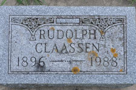 CLAASSEN, RUDOLPH - Grundy County, Iowa   RUDOLPH CLAASSEN