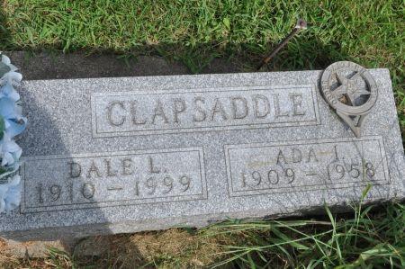 CLAPSADDLE, ADA I. - Grundy County, Iowa   ADA I. CLAPSADDLE