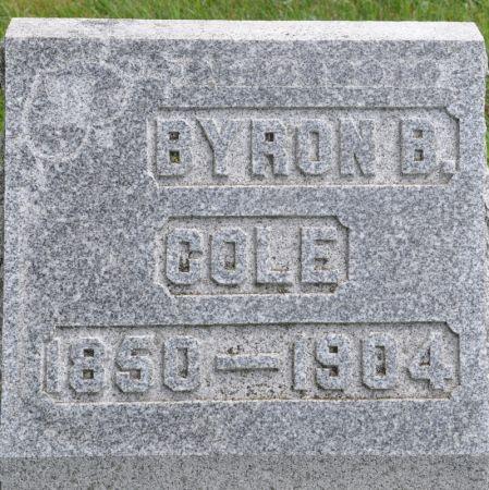 COLE, BYRON B. - Grundy County, Iowa | BYRON B. COLE