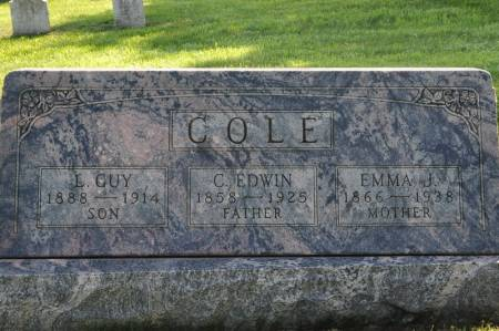 COLE, L. GUY - Grundy County, Iowa | L. GUY COLE