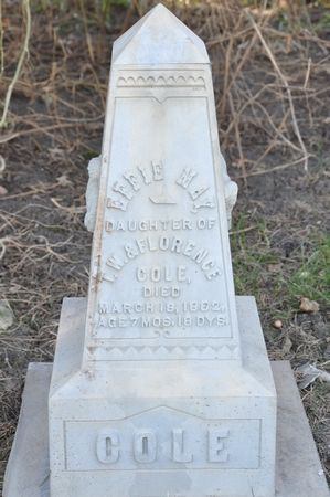 COLE, EFFIE MAY - Grundy County, Iowa | EFFIE MAY COLE