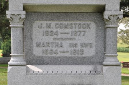 COMSTOCK, J. M. - Grundy County, Iowa | J. M. COMSTOCK