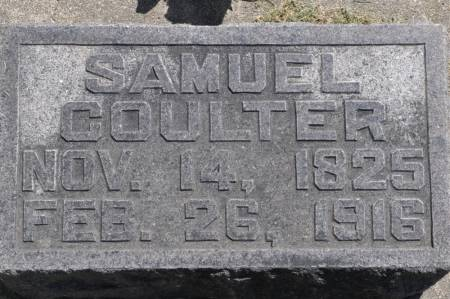 COULTER, SAMUEL - Grundy County, Iowa | SAMUEL COULTER