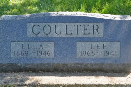 COULTER, ELLA (PIPHER) - Grundy County, Iowa | ELLA (PIPHER) COULTER