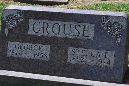 CROUSE, STELLA E. - Grundy County, Iowa | STELLA E. CROUSE