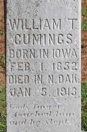 CUMINGS, WILLIAM T. - Grundy County, Iowa   WILLIAM T. CUMINGS
