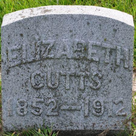 CUTTS, ELIZABETH - Grundy County, Iowa | ELIZABETH CUTTS