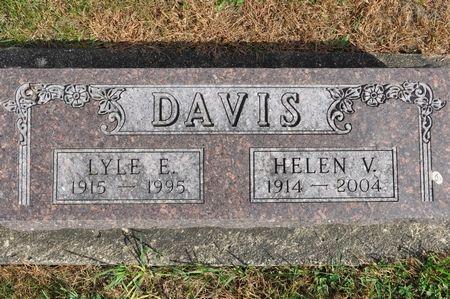 DAVIS, HELEN V. - Grundy County, Iowa | HELEN V. DAVIS