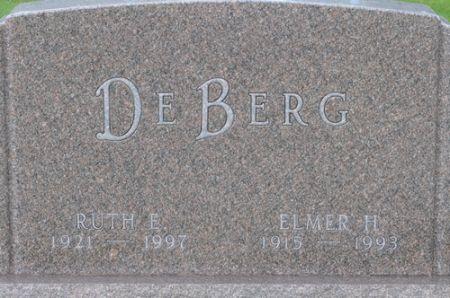 DEBERG, RUTH E. - Grundy County, Iowa | RUTH E. DEBERG