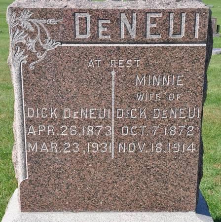 DENEUI, MINNIE - Grundy County, Iowa | MINNIE DENEUI