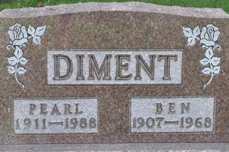 DIMENT, BEN - Grundy County, Iowa | BEN DIMENT