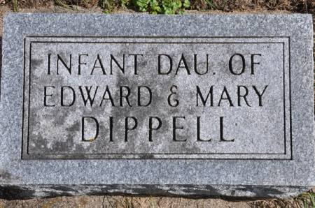 DIPPELL, INFANT DAUGHTER - Grundy County, Iowa | INFANT DAUGHTER DIPPELL