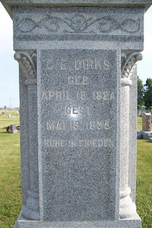 DIRKS, CORNELIUS E. - Grundy County, Iowa | CORNELIUS E. DIRKS