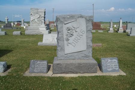 DIRKS, GARRELINA - Grundy County, Iowa | GARRELINA DIRKS