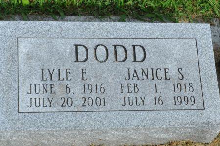 DODD, JANICE S. - Grundy County, Iowa | JANICE S. DODD