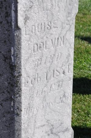 DOLVIN, LOUISE E. - Grundy County, Iowa | LOUISE E. DOLVIN