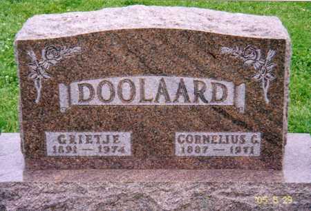 DOOLAARD, GRIETJE - Grundy County, Iowa | GRIETJE DOOLAARD