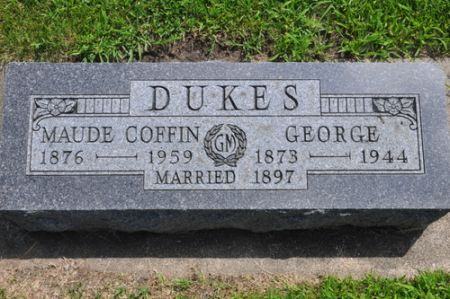 DUKES, MAUDE (COFFIN) - Grundy County, Iowa | MAUDE (COFFIN) DUKES