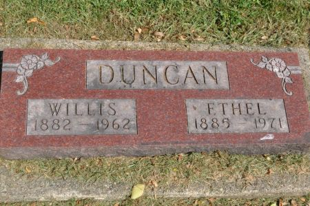 DUNCAN, ETHEL - Grundy County, Iowa | ETHEL DUNCAN