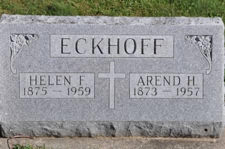 ECKHOFF, HELEN F. - Grundy County, Iowa | HELEN F. ECKHOFF