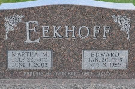 EEKHOFF, EDWARD - Grundy County, Iowa | EDWARD EEKHOFF