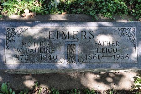 EIMERS, W. PAULINE - Grundy County, Iowa | W. PAULINE EIMERS