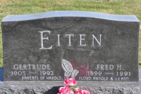 EITEN, FRED H. - Grundy County, Iowa | FRED H. EITEN