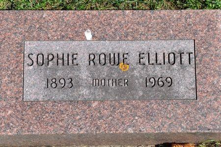 ELLIOTT, SOPHIE (ROWE) - Grundy County, Iowa | SOPHIE (ROWE) ELLIOTT