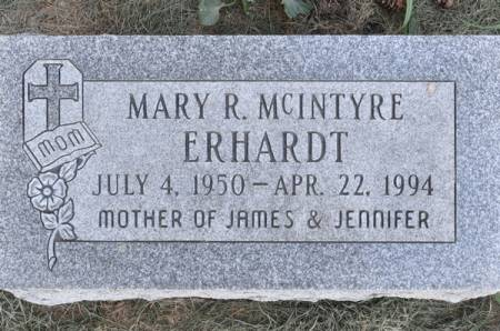 ERHARDT, MARY R. (MCINTYRE) - Grundy County, Iowa | MARY R. (MCINTYRE) ERHARDT