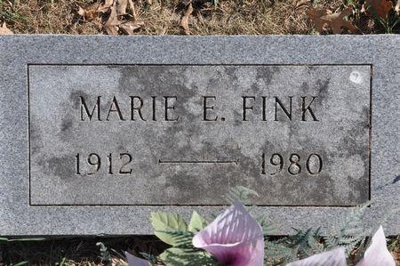 FINK, MARIE E. - Grundy County, Iowa | MARIE E. FINK