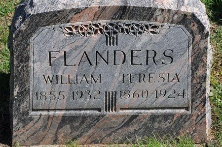 FLANDERS, TERESIA - Grundy County, Iowa | TERESIA FLANDERS