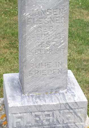 FLESNER, RIXTE (JANSEN) - Grundy County, Iowa   RIXTE (JANSEN) FLESNER