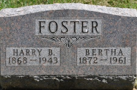 FOSTER, BERTHA - Grundy County, Iowa | BERTHA FOSTER