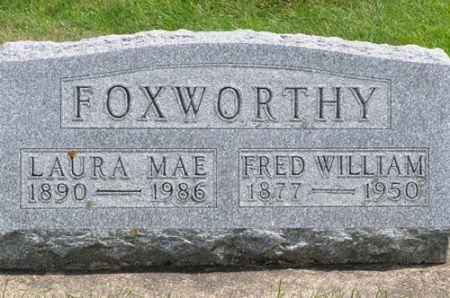 FOXWORTHY, FRED WILLIAM - Grundy County, Iowa | FRED WILLIAM FOXWORTHY