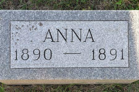 FRANKEN, ANNA - Grundy County, Iowa   ANNA FRANKEN
