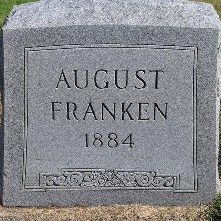FRANKEN, AUGUST - Grundy County, Iowa | AUGUST FRANKEN