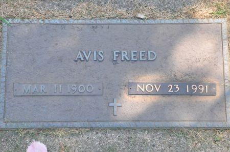 FREED, AVIS - Grundy County, Iowa | AVIS FREED