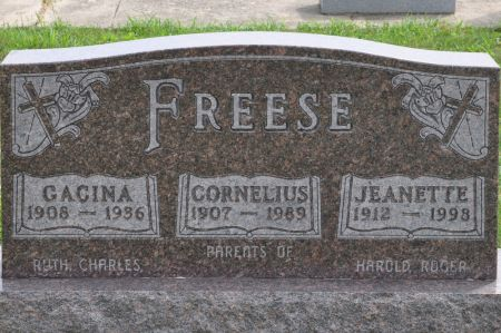 FREESE, GACINA - Grundy County, Iowa | GACINA FREESE