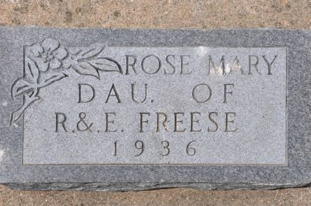 FREESE, ROSE MARY - Grundy County, Iowa | ROSE MARY FREESE