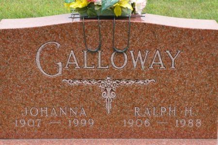 GALLOWAY, JOHANNA - Grundy County, Iowa | JOHANNA GALLOWAY
