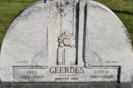 GEERDES, JOHN - Grundy County, Iowa | JOHN GEERDES