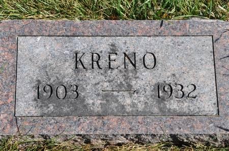 GELDER, KRENO - Grundy County, Iowa   KRENO GELDER