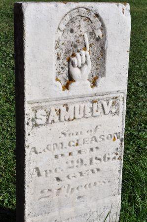 GLEASON, SAMUEL V. - Grundy County, Iowa | SAMUEL V. GLEASON